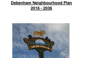 Picture Debenham Neighbourhood plan